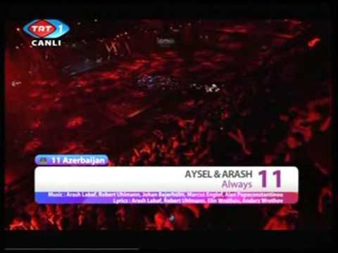 Always / Aysel & Arash - Azerbaijan Eurovision 2009 Final