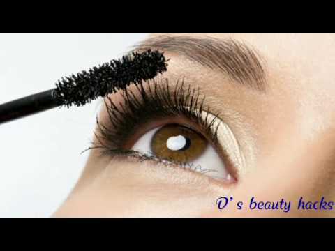 Homemade Mascara |Natural |how to make mascara | DIY MASCARA
