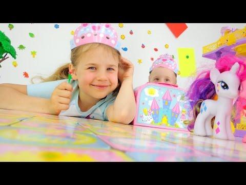 Игры для девочек: Найди пару. Ксюша Дети и Родители видео для детей