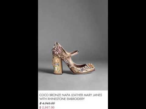 Youtube Para Dama 2016 Dolce Gabbana Zapatos amp; Invierno wx7a0Wvq