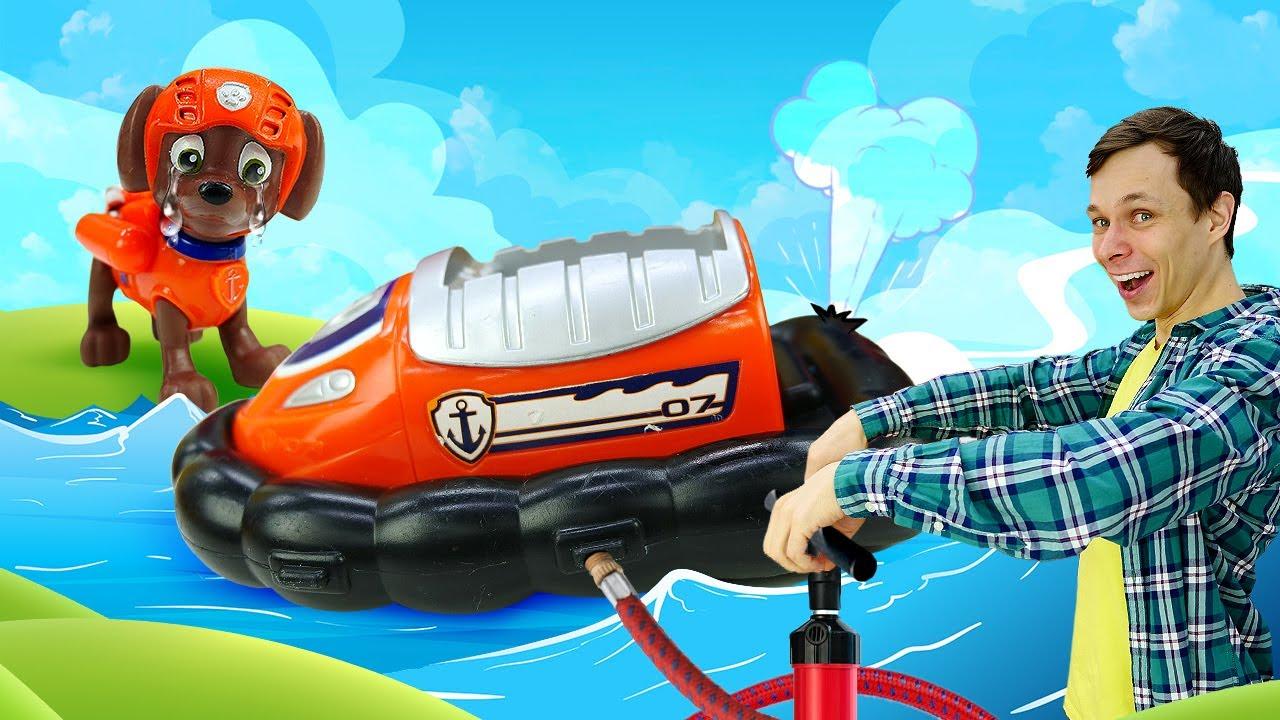 Видео игры - Фёдор ремонтирует Машинки и Катер для Щенячьего Патруля! – Лучшие игры для мальчиков.