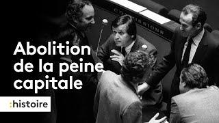 Il y a 40 ans... la peine de mort était abolie