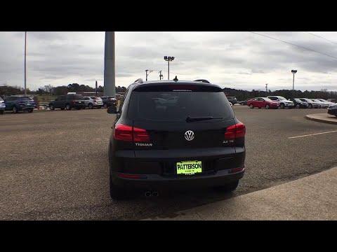 2015 Volkswagen Tiguan Tyler, Longview, Lufkin, Nacogdoches, Shreveport, TX T2640