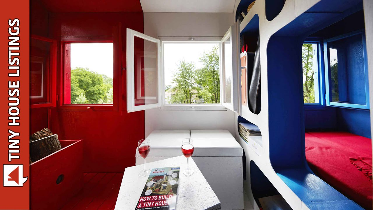 $1,200 3 Space Prefab Tiny House Can Be Assembled In One Day   YouTube