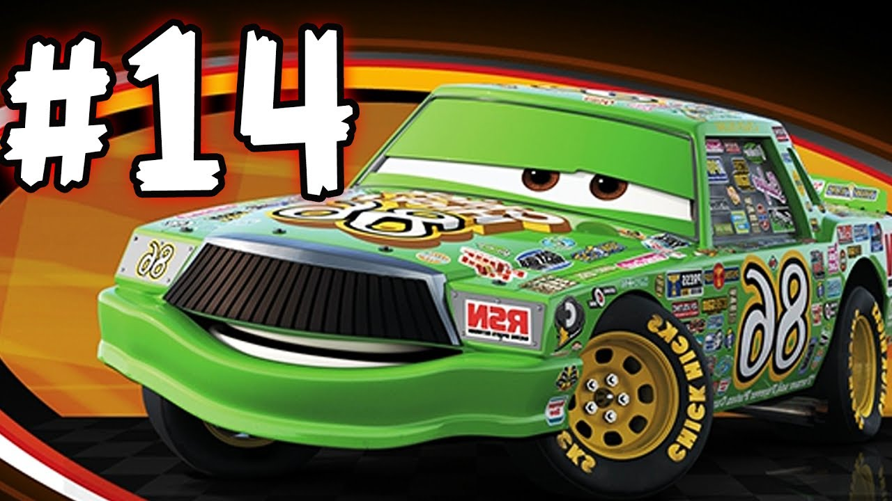 Cars 3 the videogame part 14 chick hicks youtube - Coloriage cars chick hicks ...