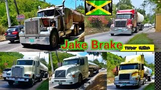 Jake Brake Compilation - Tanker Edition #Jamaica Part 2