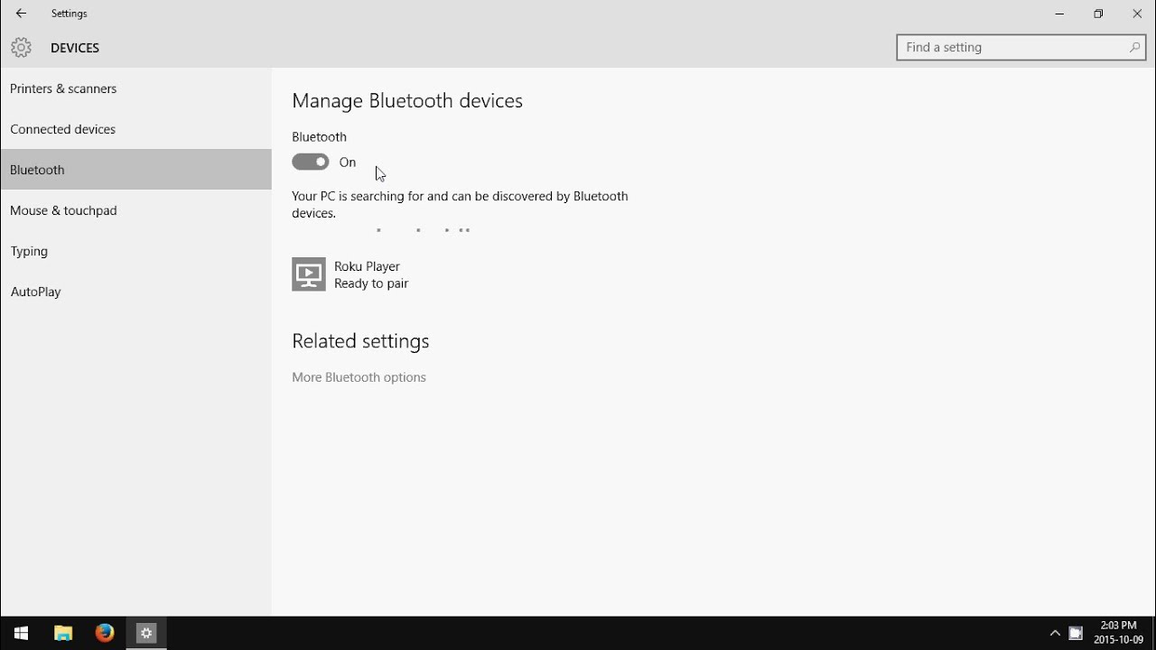 Windows 10: How to Turn Off Bluetooth - YouTube