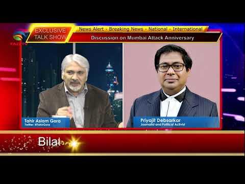 Bilatakaluf Talk on Mumbai Attack Anniversary - Tahir Gora & Priyajit Debsarkar @TAG TV London UK