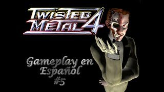 Twisted Metal 4 [Gameplay en Español] [5]-El auto mas raro