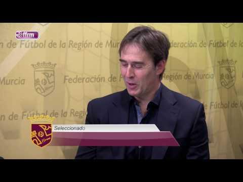 ENTREVISTA a JULEN LOPETEGUI, Seleccionador Nacional Absoluto de Fútbol