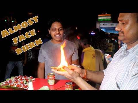 FIRE PAAN And ICE PAAN In Delhi | Indian Street Food