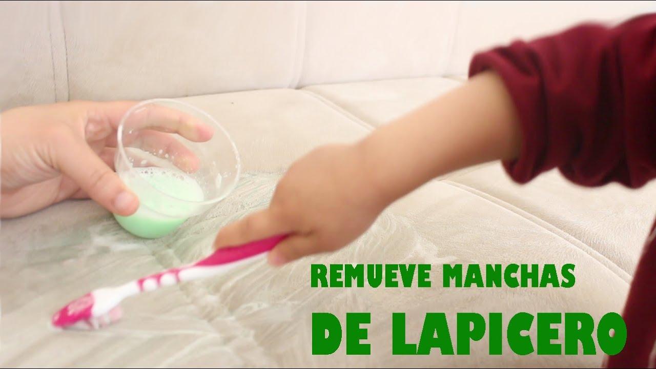 Cómo Remover Manchas De Tinta De Lapicero Fácilmente Manualidadestv Manualidadesconninos Youtube