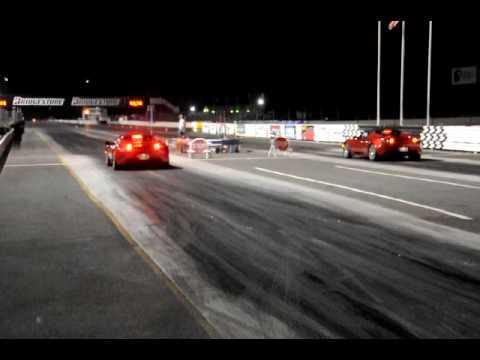 Tesla Roadster vs Tesla Roadster with John Wayland...