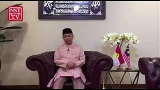Hari Raya wishes from UMNO acting chairman, Datuk Seri Dr Ahmad Zahid Hamidi