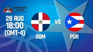 Dominican Republic v Puerto Rico - Gold Medal- 2016 FIBA Centrobasket U15 Championship