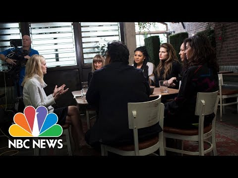 Women In Hollywood Roundtable: Let's Talk About The Guys | NBC News