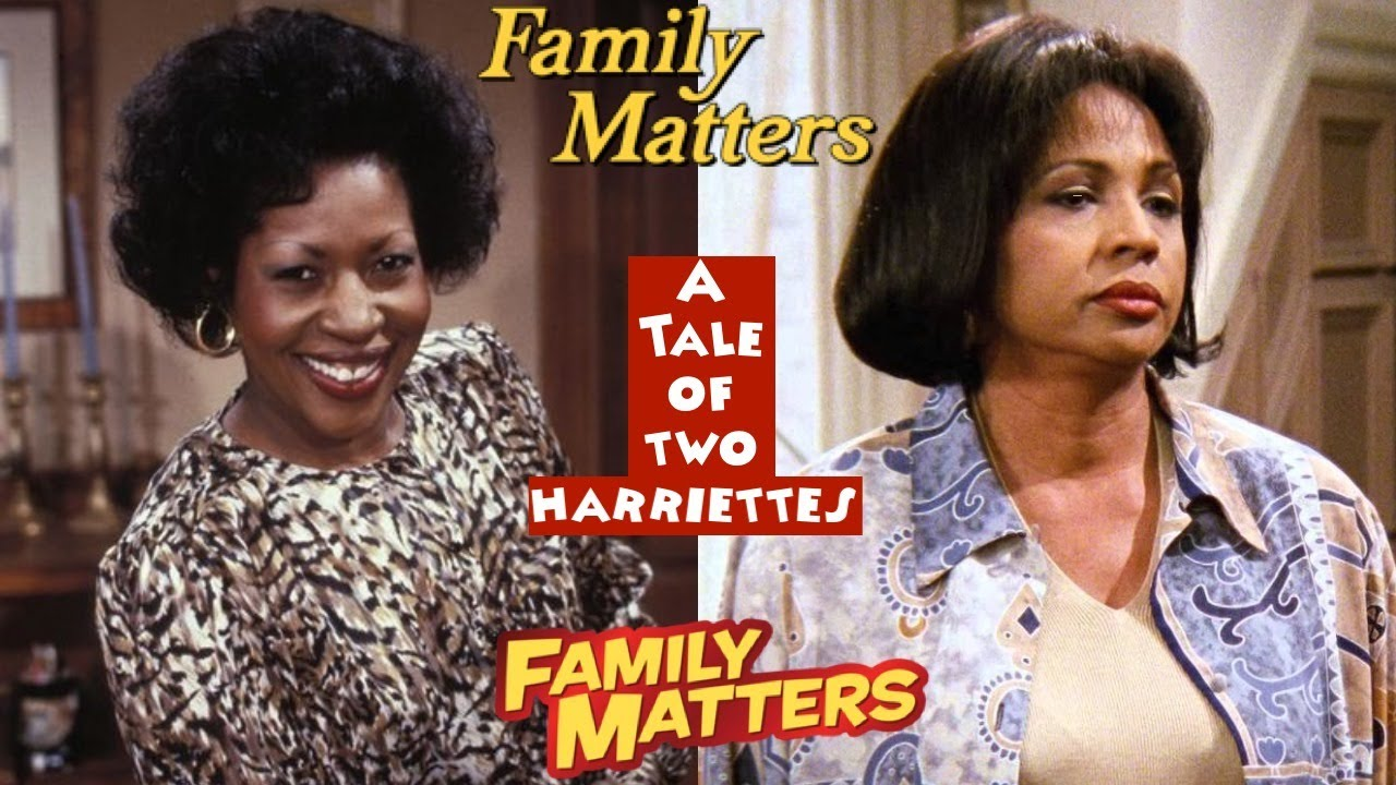 FAMILY MATTERS: A TALE OF TWO HARRIETTES