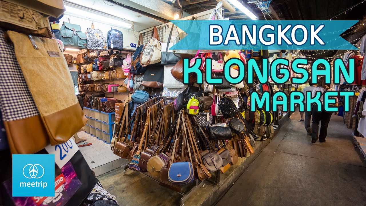 Image result for klong san markets