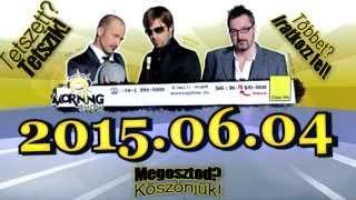 ClassFM MorningShow 2015 06 04 Tóth Gábor, Celeb rokonság, Kutyás udvarlás, Balázs Triolán játszik