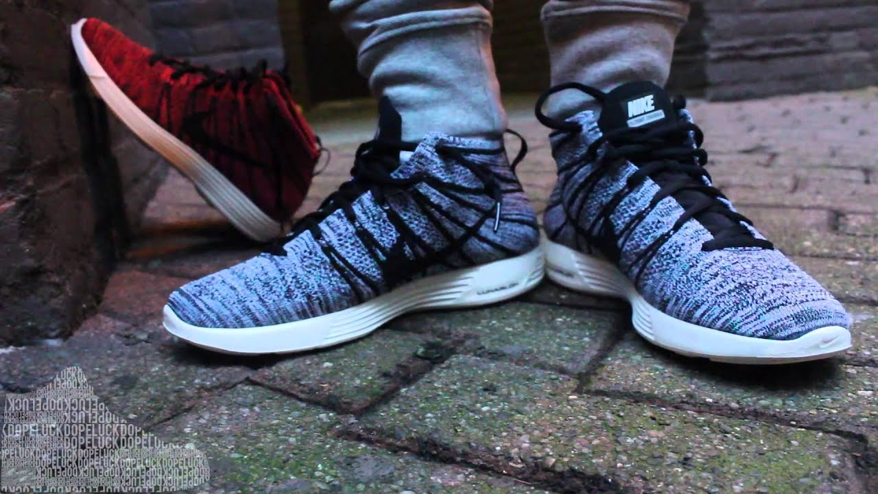 flyknit chukkas on feet youtube