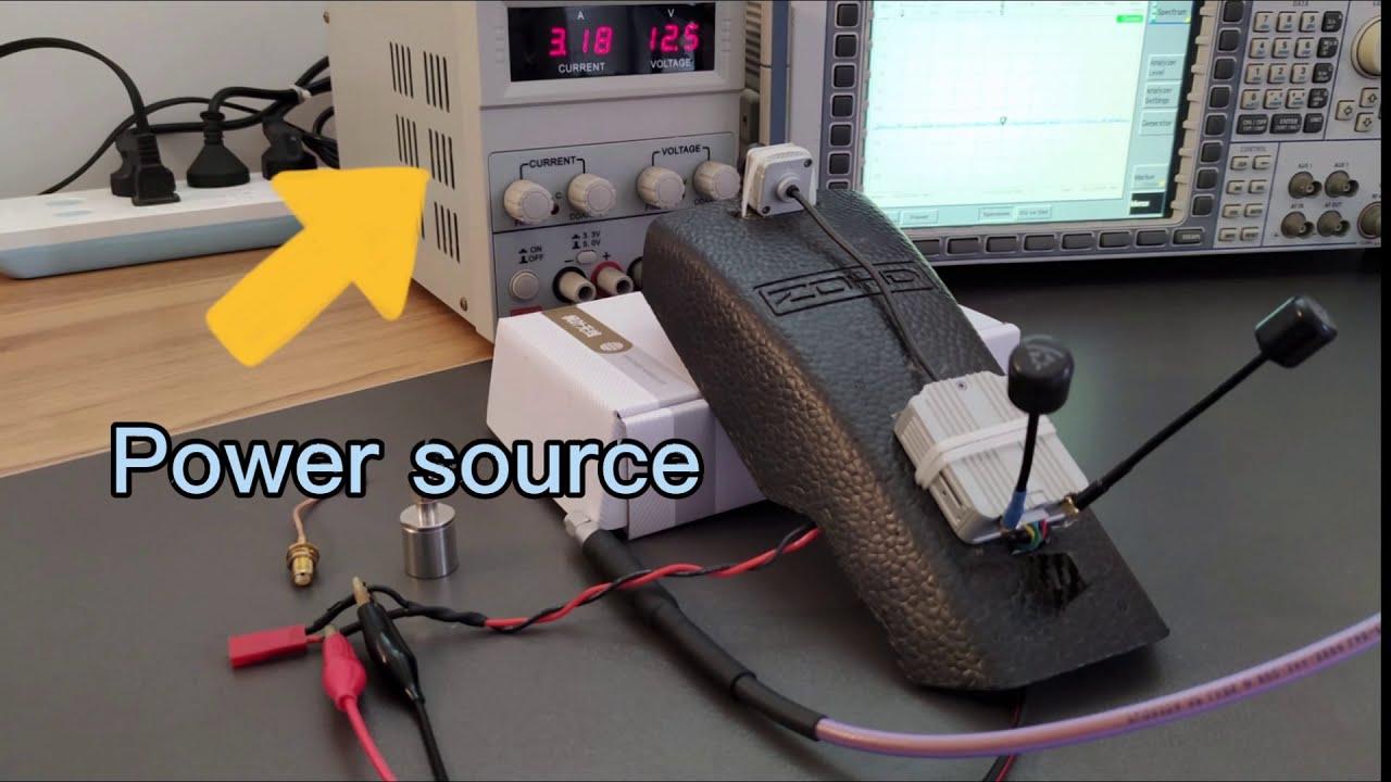 DJI FPV digital system current power test картинки