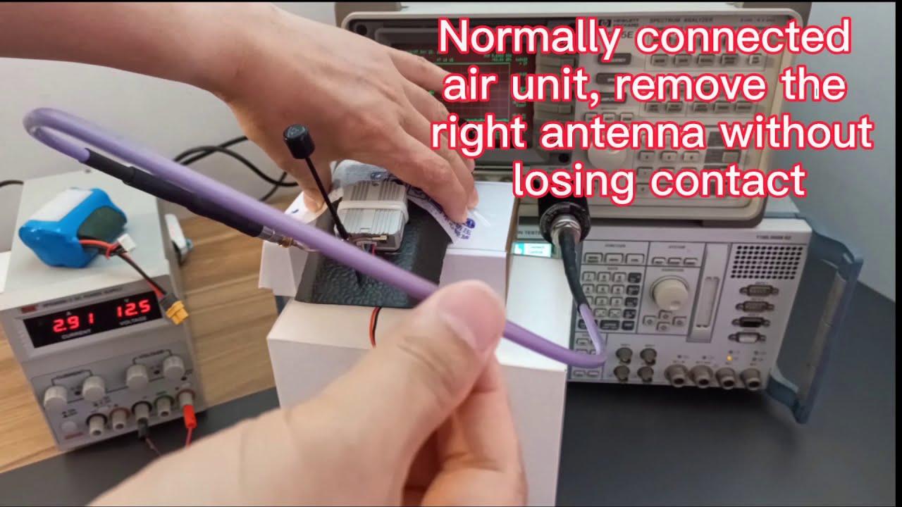 DJI FPV digital system current power test фотки