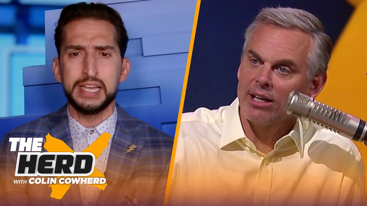 Nick Wright talks KD's big game, Clippers' odds of advancing without Kawhi Leonard | THE HERD