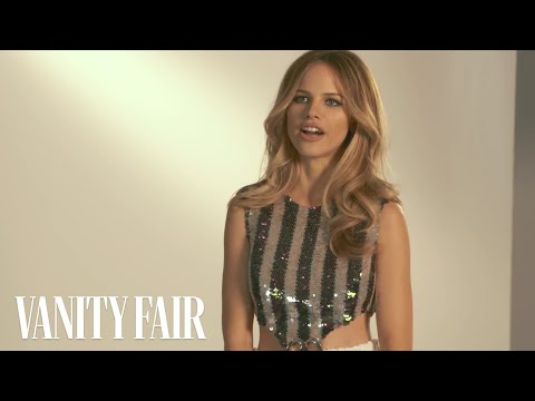 "Halston Sage on ""Growing Up"" with Cara Delevingne and Nat Wolff in"