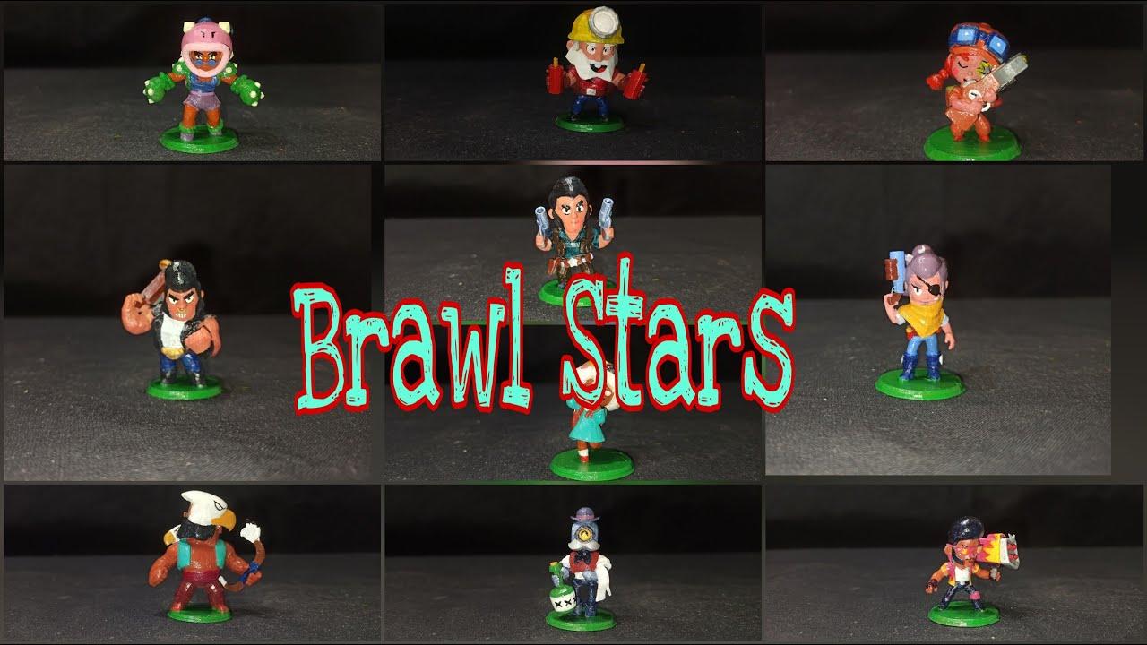 Фигурки Brawl Stars/3D печать на 3D принтере Anycubic Photon S/Покраска фигурок #1