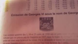 $0.10 de 1936-1952 Rey Georges VI