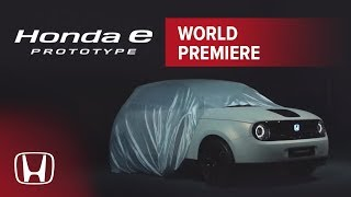 Honda e Prototype Premiere - Geneva Motor Show 2019 Cars