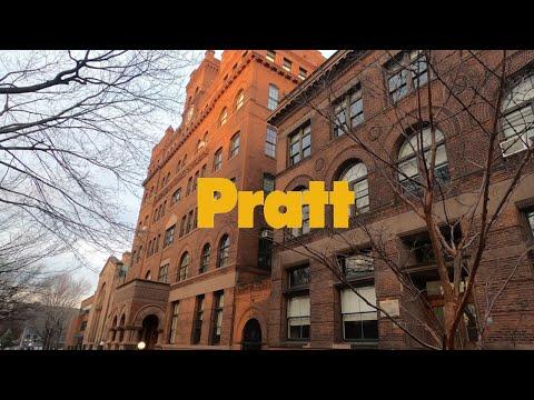 Pratt Institute Brooklyn Campus Virtual Tour Pt 1 | Go Pro 4K | 普瑞特艺术学院