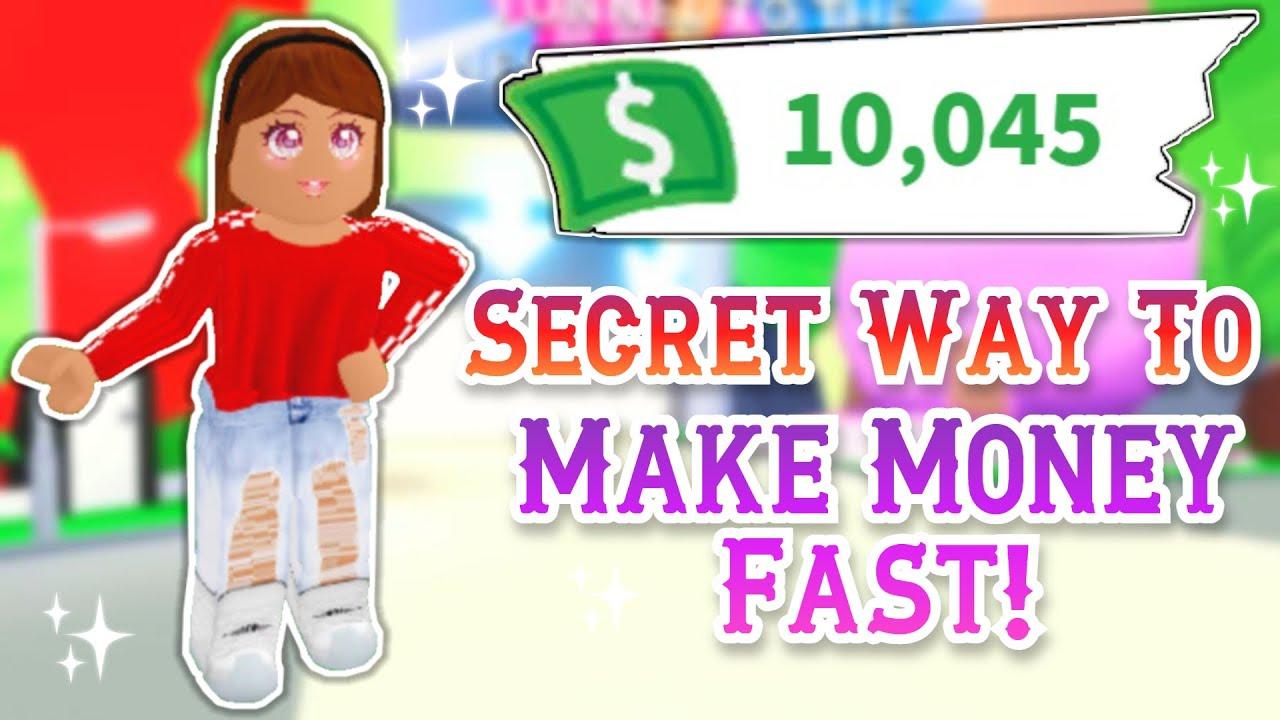 Secret Money Duplication Glitch Not Hacking Adopt Me Tips Youtube