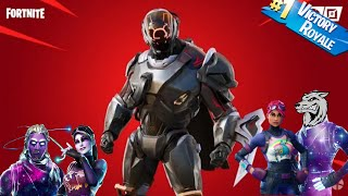 LIVE FORTNITE EN]NEW SKIN SECRET AND ENSEMBLE THE MORE CHERS ON FORTNITE BATTLE ROYAL -FaceCam
