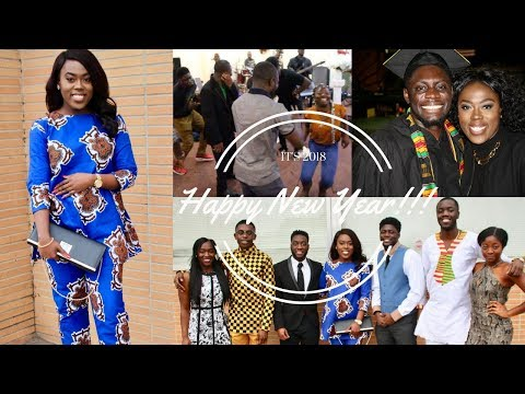 My December Ghanaian Vlogmas/New Year! |HAPPY 2018!!|