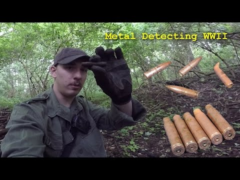 Metal Detecting WW2 Near Aachen - Germany - Small trip ( 2 hours )