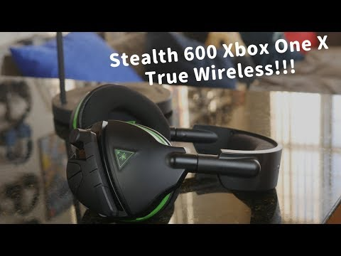 Stealth 600 Review Best True Wireless Xbox One X Headset Youtube