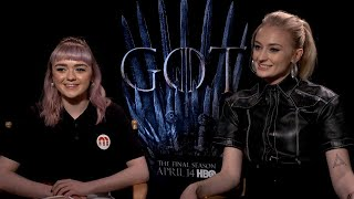 Who took the best selfies on set? Sophie Turner, Maisie Williams and more 'GoT' stars spill on-set secrets in 'Game of Phones.' The eighth and final season of ...