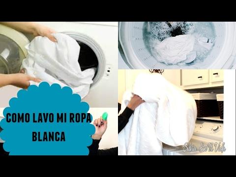 tips para lavar ropa blanca