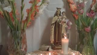 CELEBRAMOS HOY A NUESTRA SEÑORA VIRGEN  DEL CARMEN 2018- Moyra Victoria Clarividente.