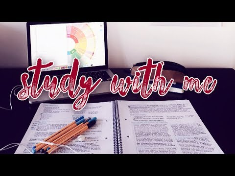 🔴 STUDY WITH ME 💯📚 - LIVE (at least 6 hours) Studying for Organic Chemistry
