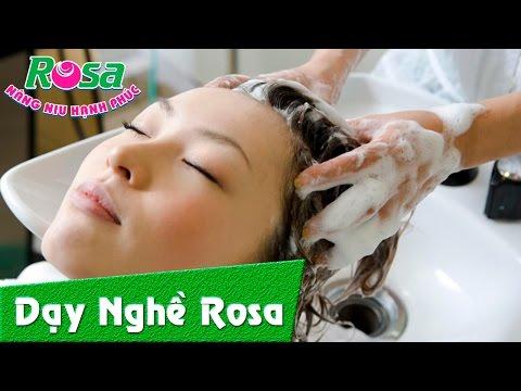 Hướng dẫn kỹ thuật gội đầu - massage mặt thư giãn