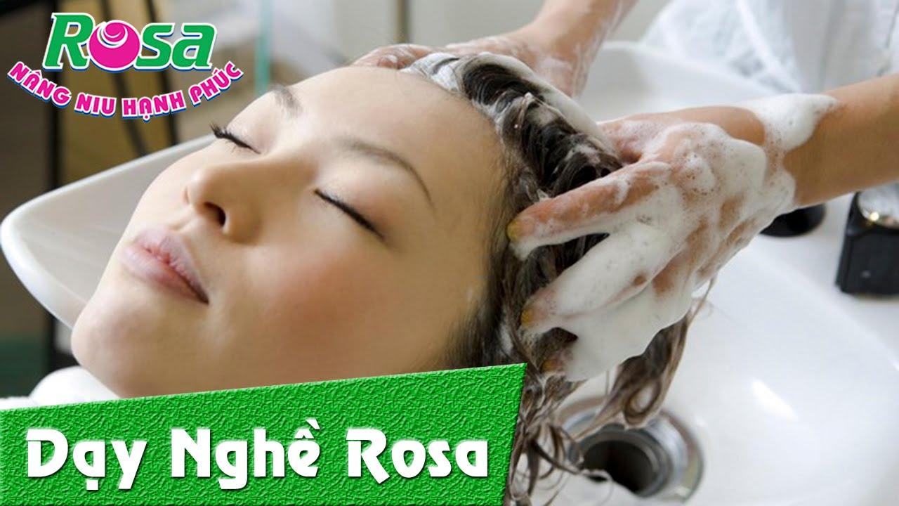 Hướng dẫn kỹ thuật gội đầu – massage mặt thư giãn