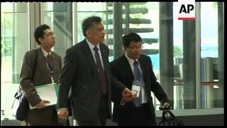 Security, arrivals ahead of foreign ministers meeting