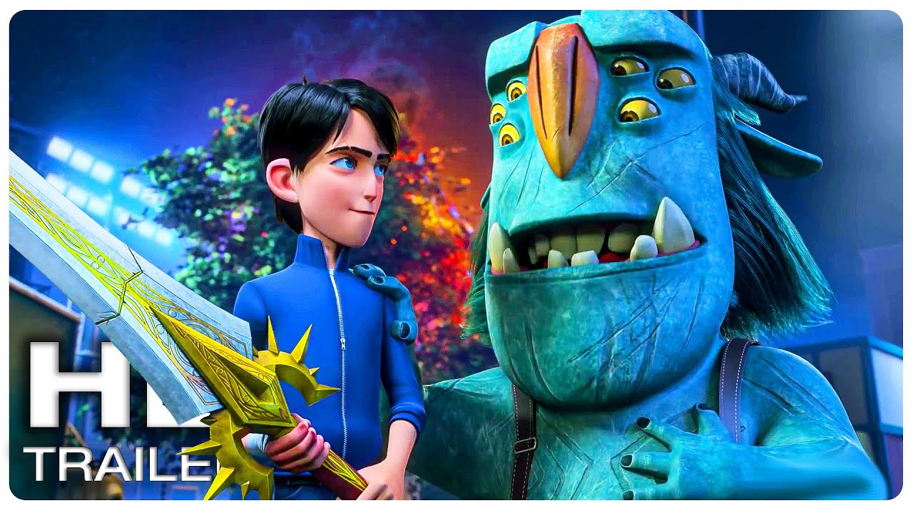 Download TROLLHUNTERS RISE OF THE TITANS Official Trailer #1 (NEW 2021) Guillermo del Toro Animated Movie HD