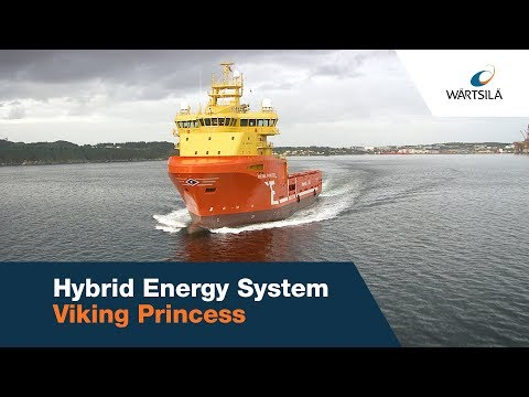 Viking Princess - Hybrid energy storage system | Wärtsilä