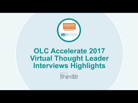 OLC & Inside Higher Ed Interactive Interviews