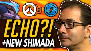 Overwatch | Why Echo Might Not Be Hero 32 \u0026 New Shimada Member Coming? - Jeff Kaplan Q\u0026A