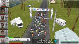 Tour de France 2009 Pro Cycling: Gameplay for PSP
