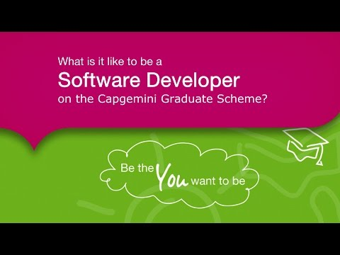 What Is It Like to Be a Software Developer on the Capgemini Graduate Scheme?